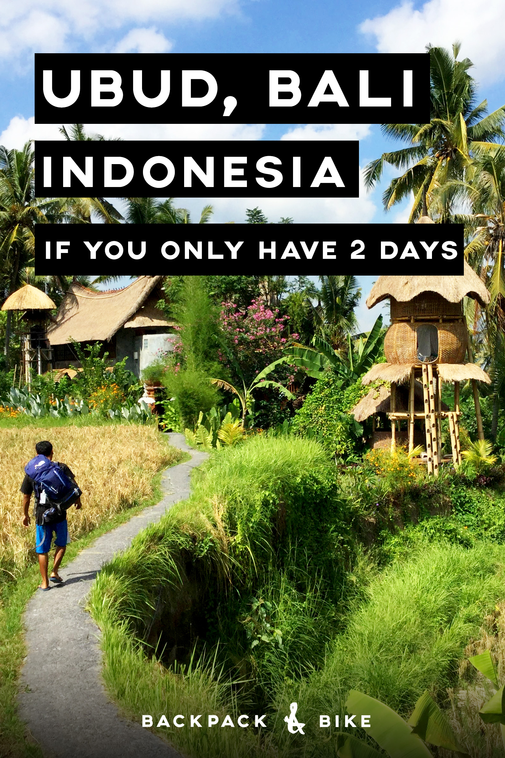 Visiting Ubud Bali If You Only Have 2 Days Backpack Amp Bike